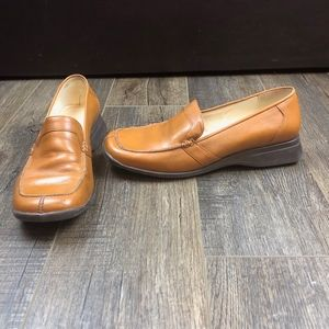 Kenneth Cole Reaction Brown Slip On Shoes